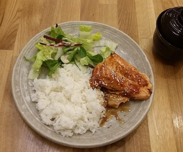 D3 Salmon Teriyaki