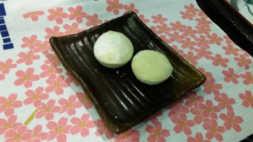 DE2 Grean Tea Mochi Ice Cream